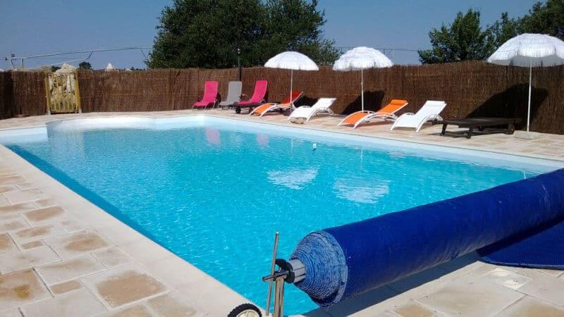 La piscine du Mas de la Chérine